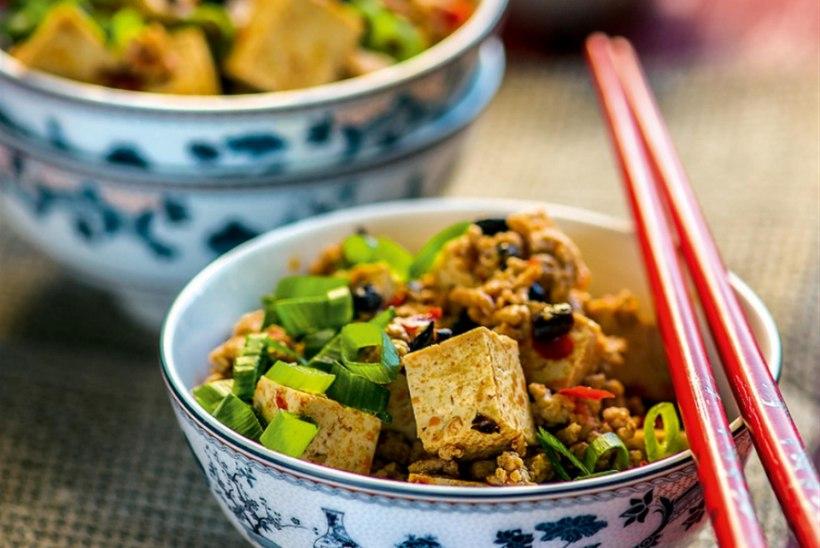 Vürtsikas tofu- ja veisehakkliharoog