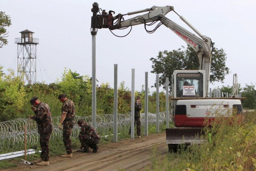 Ungari plaanib ehitada migrantide voo peatamiseks veel teisegi betoonmüüri