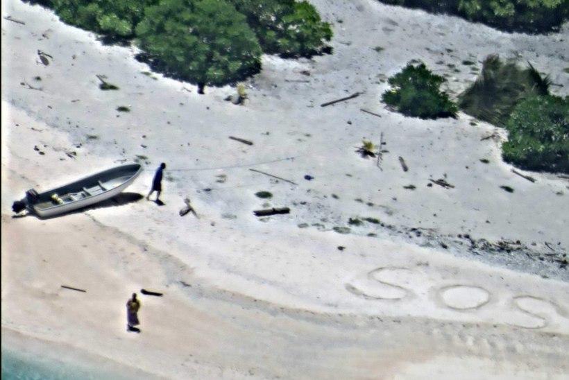 Tänapäeva Robinsonid päästeti kiiresti üksikult saarelt