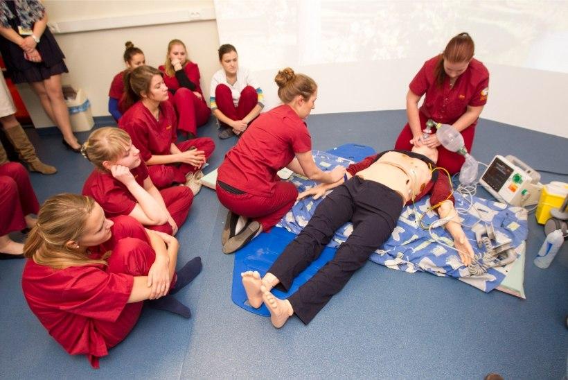 Tallinna Tervishoiu Kõrgkoolis alustavad õpinguid ligi 400 tulevast tervishoiutöötajat