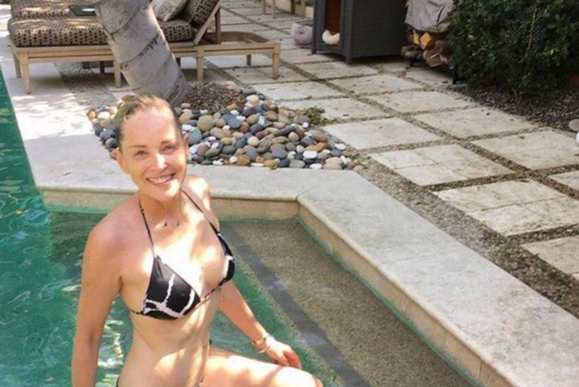 FOTOD | Sharon Stone (58) on bikiinides sire kui 20aastane!