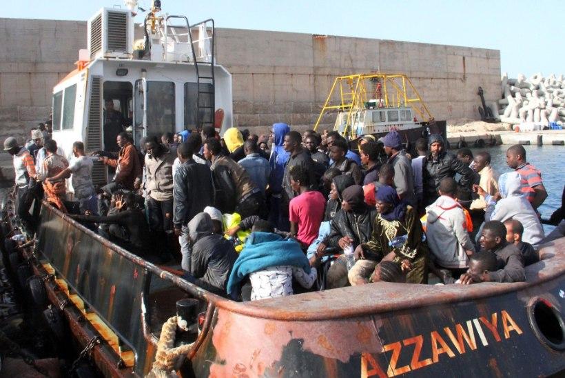 VIDEO | Liibüa lähistelt päästeti merel eile üle 6000 migrandi