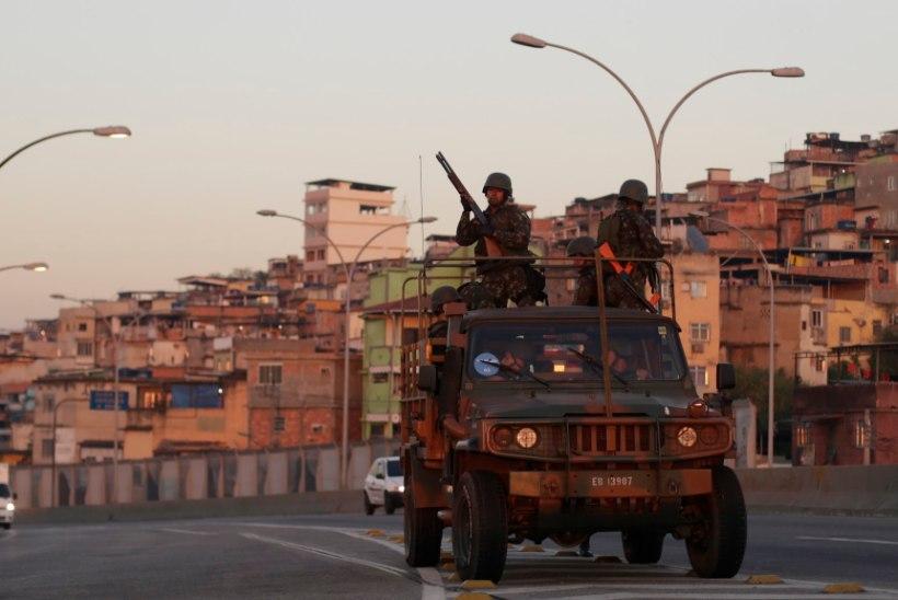 Rios jäid kolm rootslast brasiilia narkoärikate küüsi
