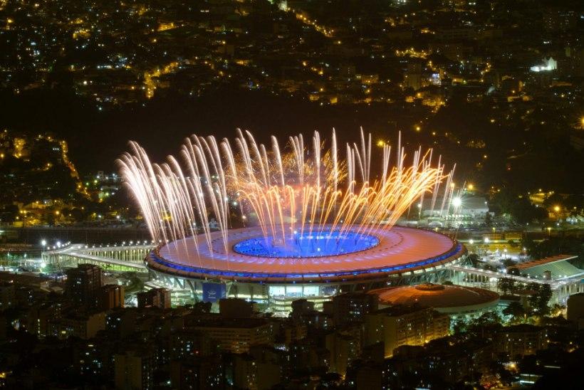 ÕL RIOS | Pidu masu ajal ehk Rio olümpia avatseremoonia