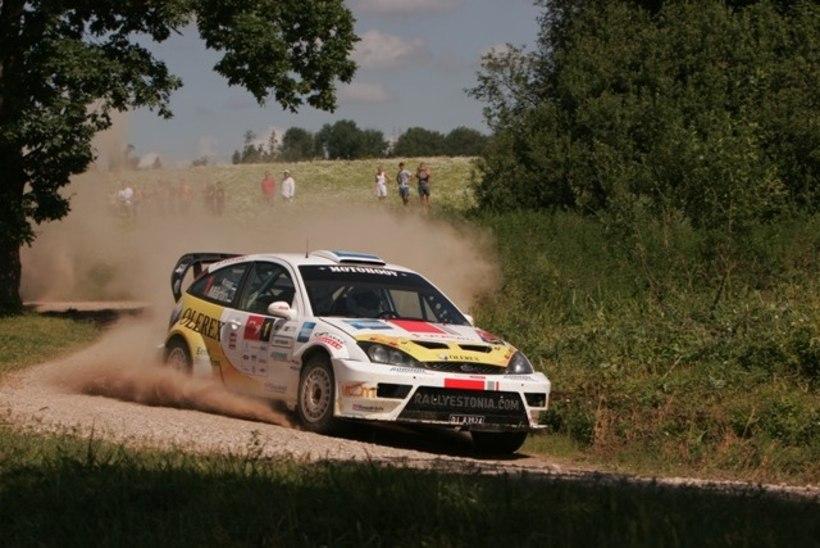 Markko Märtin stardib Lõuna-Eesti rallil WRC masinaga