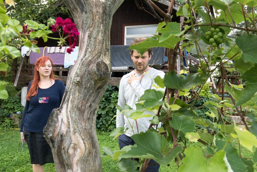 HAPUD VIINAMARJAD: Eesti suurimas viinamarjaistanduses degusteerivad saaki rebased