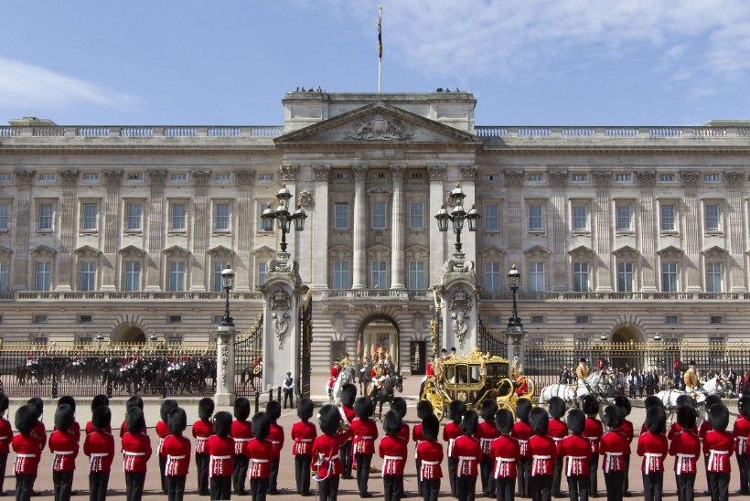 Buckinghami palee juurest tabati järjekordne sissetungija
