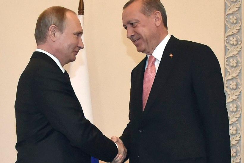 Putin ja Erdoğan matsid vaenukirve