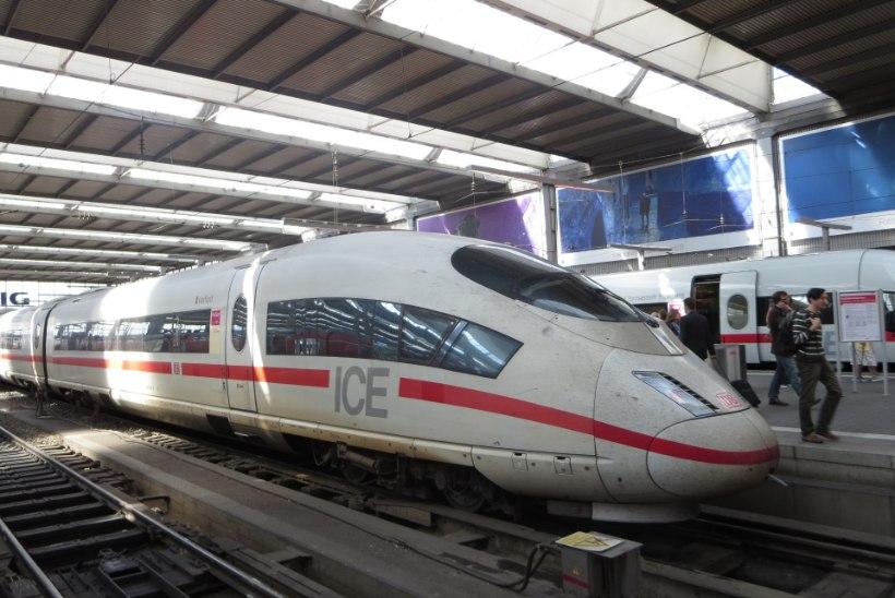 Rongiga nelja tunniga Münchenist Berliini