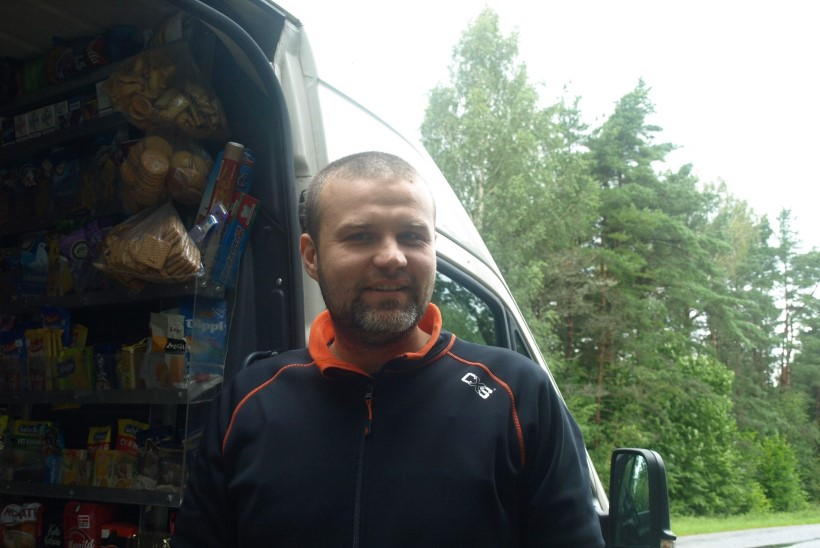 Kauplusauto juht: palju on külasid, kus ootabki ainult üks inimene