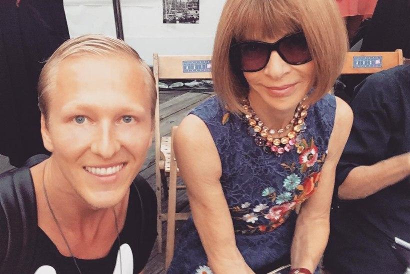 FOTO | UHKE! Ženja Fokin tegi Vogue'i peatoimetaja Anna Wintouriga pilti