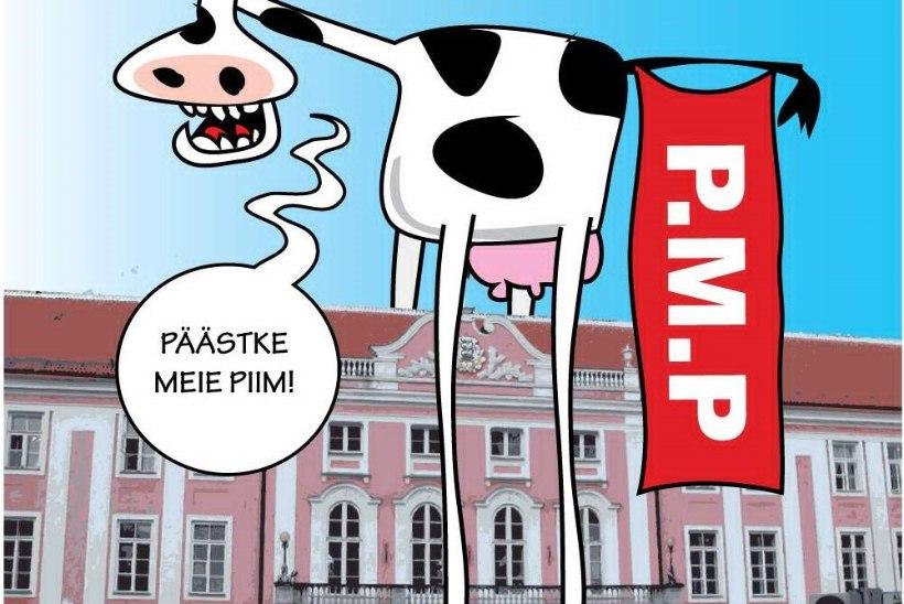 Karikatuur   Piim