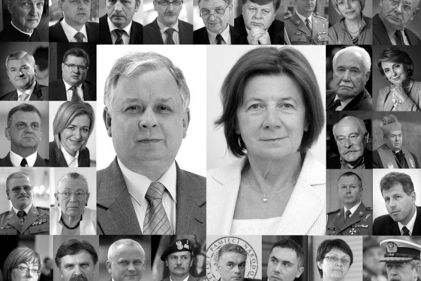Poola valitsus süüdistab presidendi hukkumises Vene lennudispetšereid
