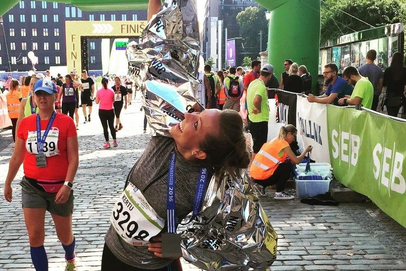 Kertu Jukkumi ülestunnistus: tegin Tallinna poolmaratonil nii palju vigu!