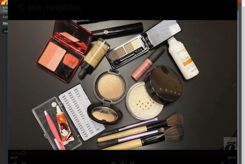 ILUKOOL | Millised on need 10 asja, mis kindlasti peavad kosmeetikakotis olema?