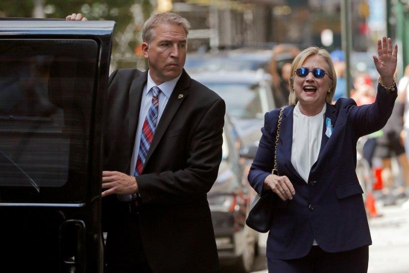 Kas haige Hillary Clinton asendati teisikuga?