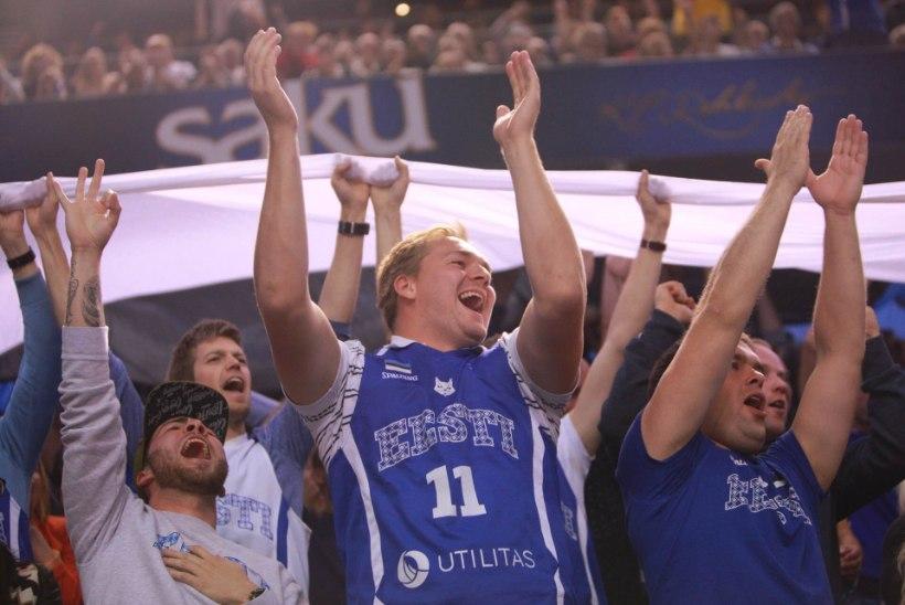 NII SEE JUHTUS | VÕIMAS! Eesti korvpallikoondis alistas kodupubliku toel Portugali 19 punktiga