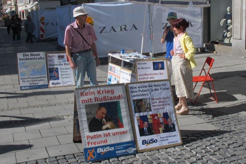 Kremlimeelsed sakslased soovivad ühineda Venemaaga