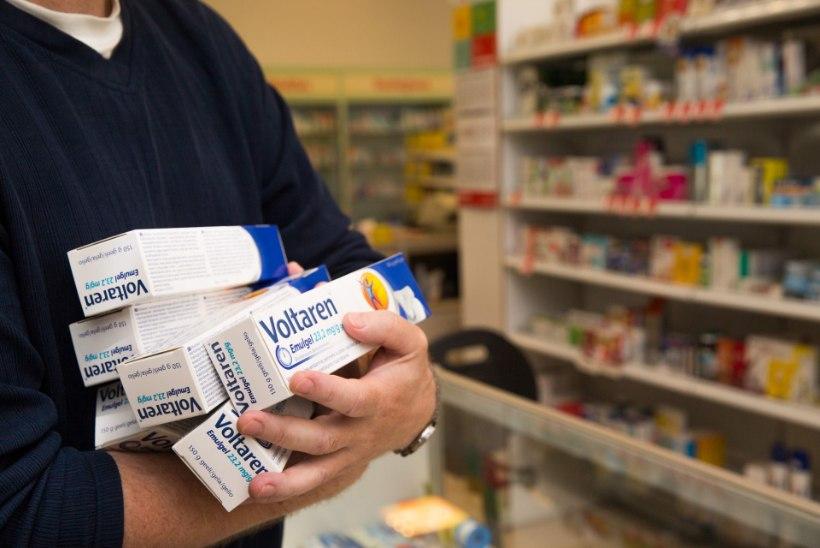Ravimiralli: soomlased leidsid, Eestis on valuvaigistid odavad