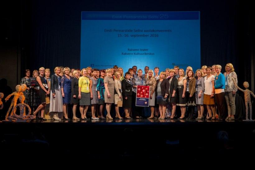 Perearstide aastakonverentsil tunnustati parimaid praksiseid