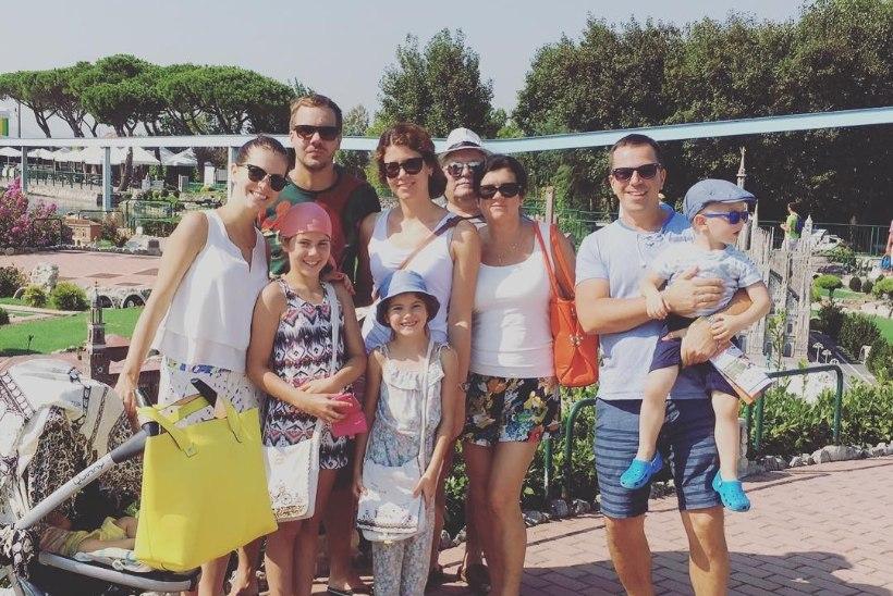 PILDID // Birgit Sarrap veedab perepuhkust Itaalias