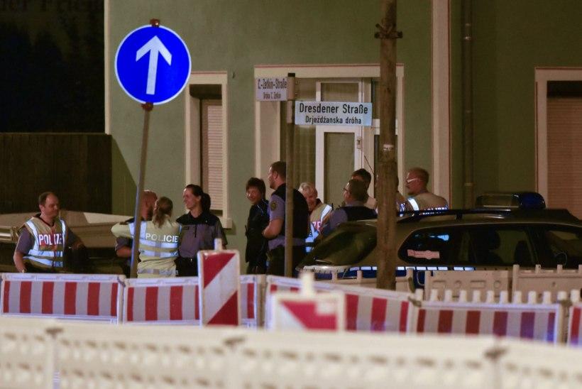 Saksamaa idaosas puhkes kohalike ja migrantide vahel kokkupõrge