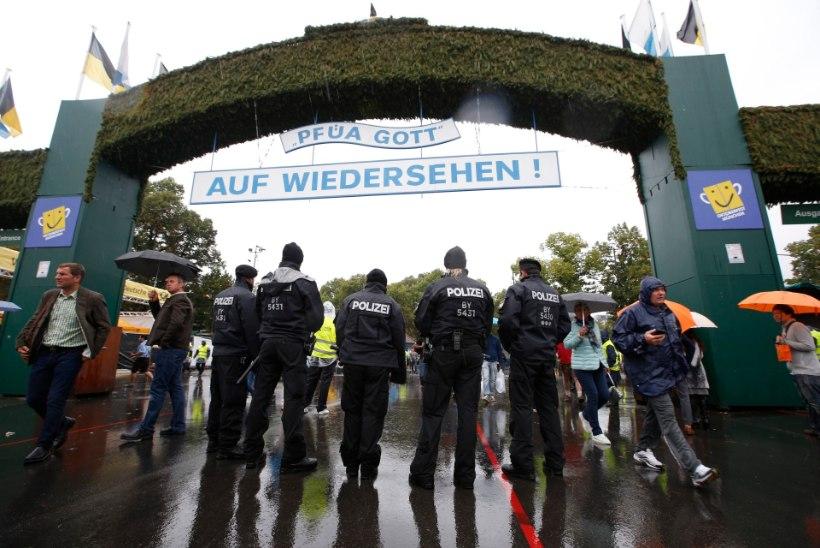 FOTOD | Oktoberfesti turvameetmed on sel aastal tavalisest karmimad