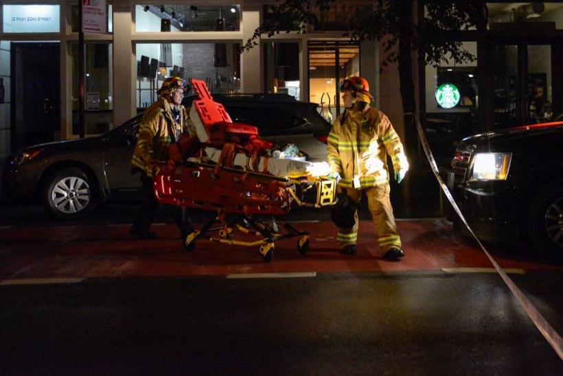 New Yorgis plahvatas lõhkekeha: 29 inimest sai vigastada