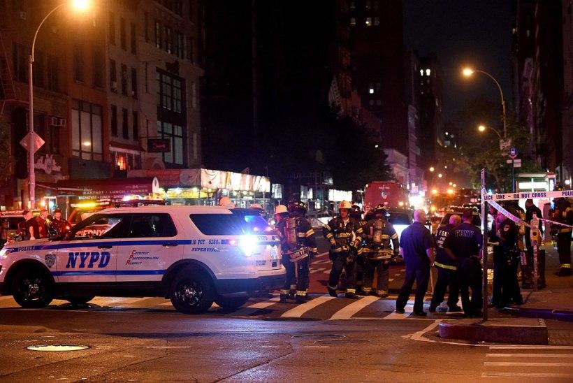 Pommiplahvatus otse New Yorgi südames