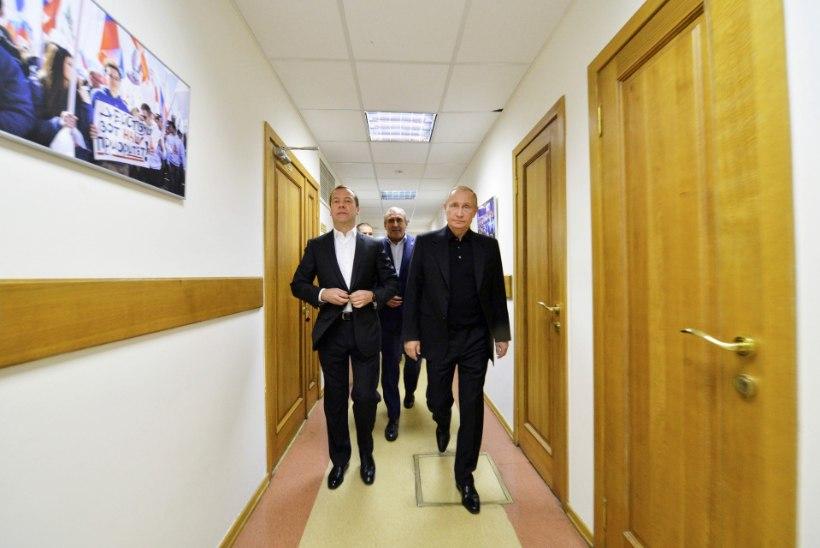 Vene riigiduuma valimisi on võitmas Ühtne Venemaa