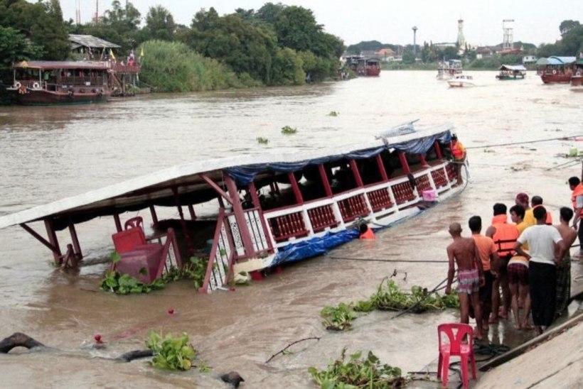 Palju hukkunuid: jõelaev läks ümber