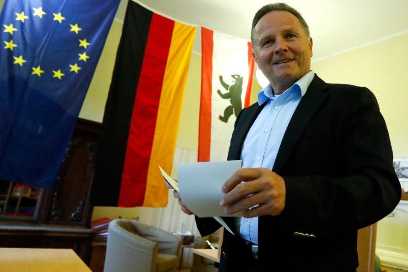 Merkeli kristlikud demokraadid said ka Berliinis lüüa