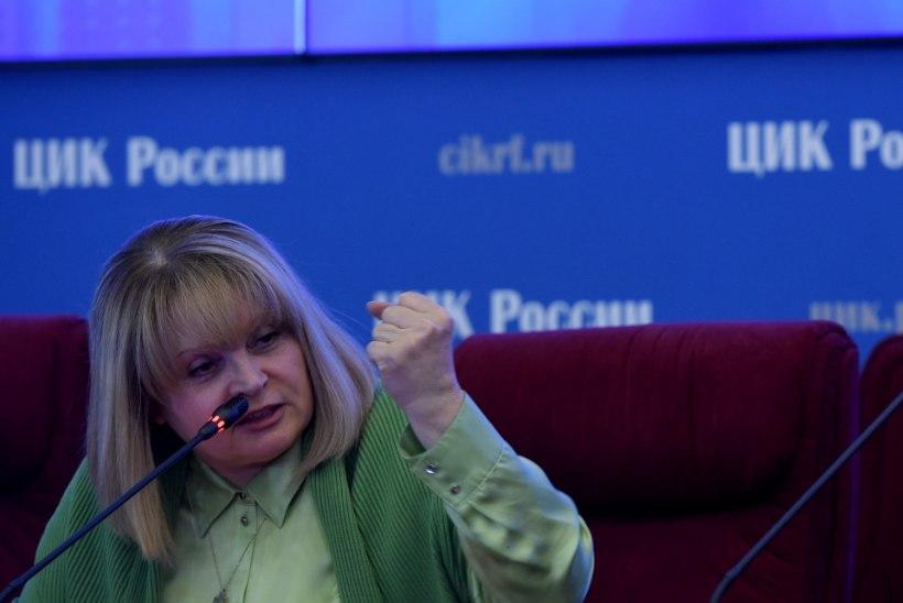 Vene riigiduuma valimised võitis Ühtne Venemaa