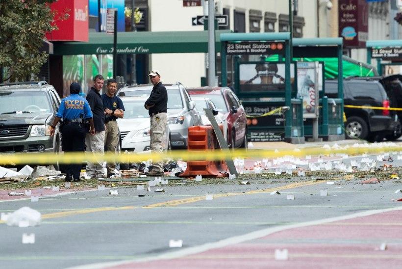 New Yorgi pomm oli sama tüüpi kui Bostoni maratoni veresauna põhjustanud lõhkekehad