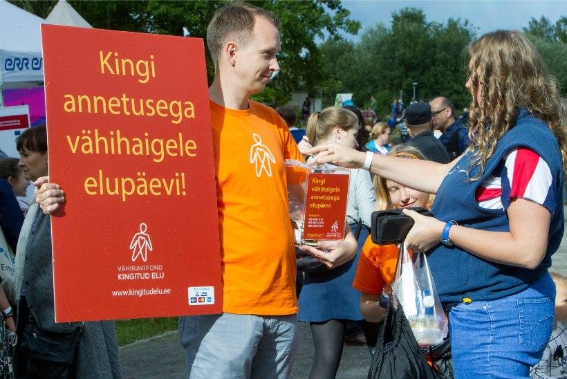 Möödunud nädalaga kogunes vähiravifondi ligi 20 000 eurot