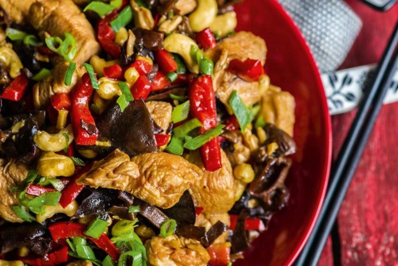 Kana India pähklitega