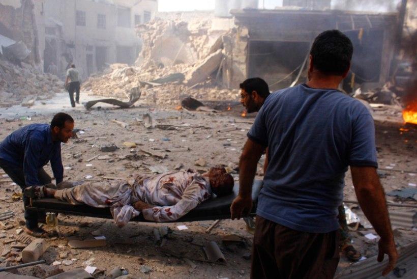 Süüria sõjas juba 470 000 hukkunut
