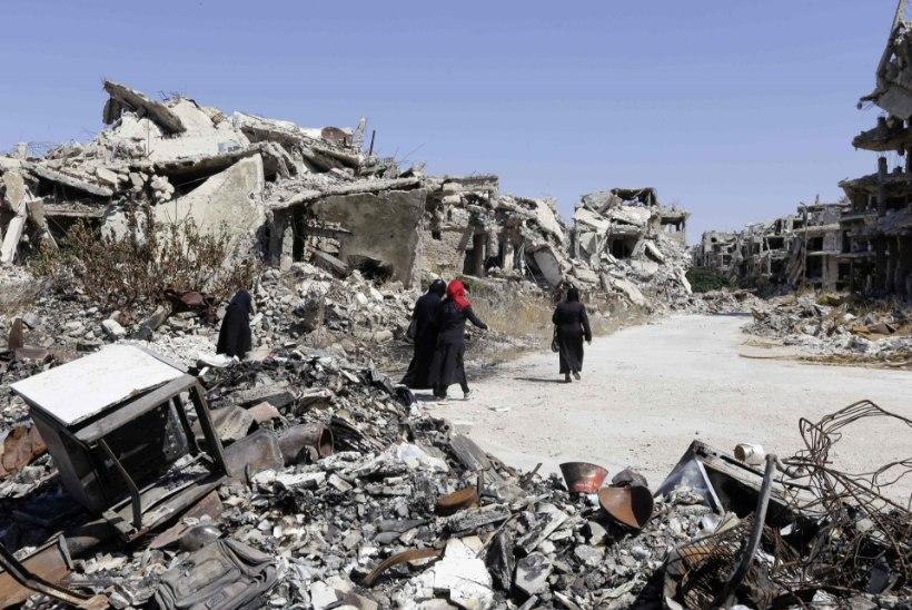 Süüria konflikt: õhurünnak tabas abikonvoid tappes 12 inimest