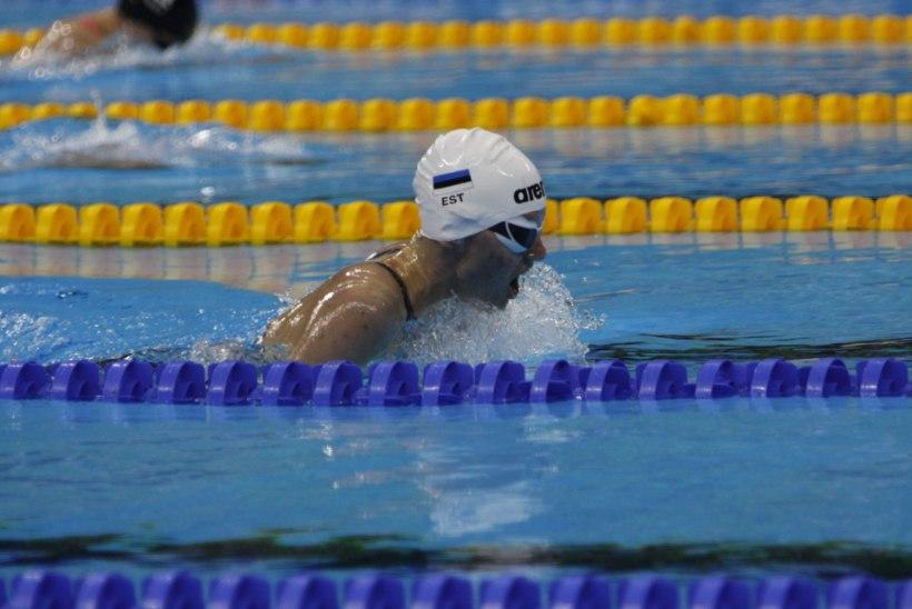 Pime ujuja Elisabeth Egel: arvan, et veearmastus jääb minuga elu lõpuni