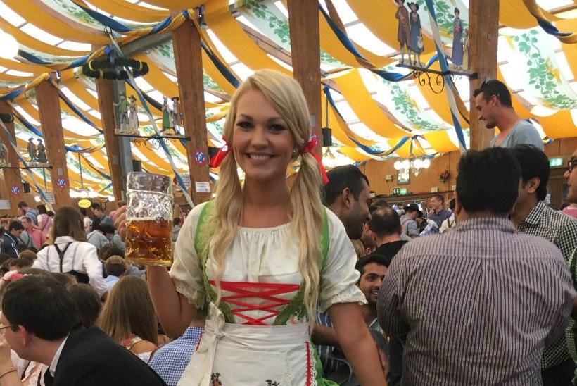 Reporter Keili Sükijainen: kõik Oktoberfesti külastajad tahtsid telekasse saada