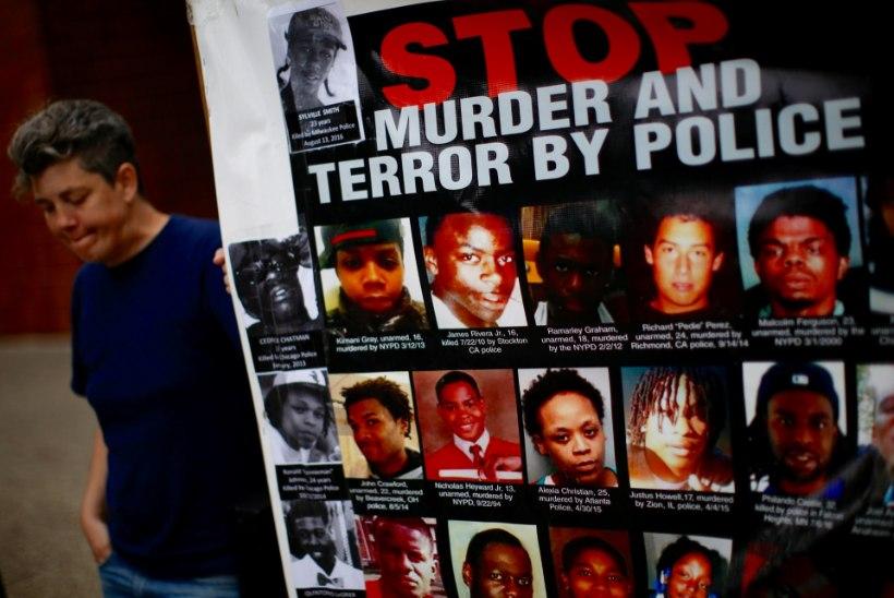 USAs on politsei tänavu tapnud 706 inimest