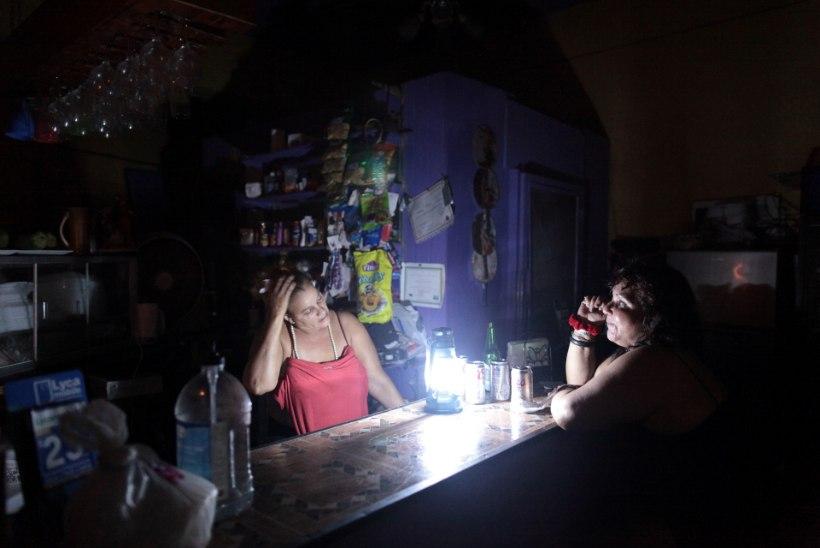 Elektrijaama tulekahju jättis Puerto Ricos elektrita 1,5 miljonit inimest