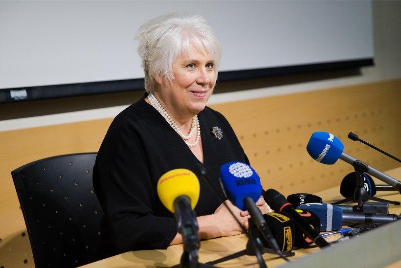 Kaljurand sai ministrikohalt lahkudes 3663 eurot hüvitist