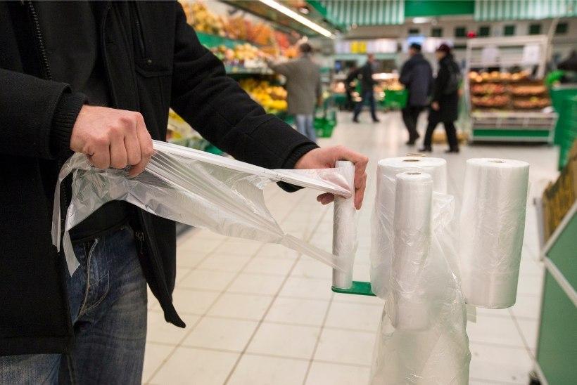Tasuta kilekotid kaovad kassadest enne tähtaega