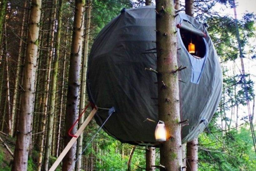 GALERII | MATKAMISE UUS TASE: ööbimine õhus hõljuvas telgis