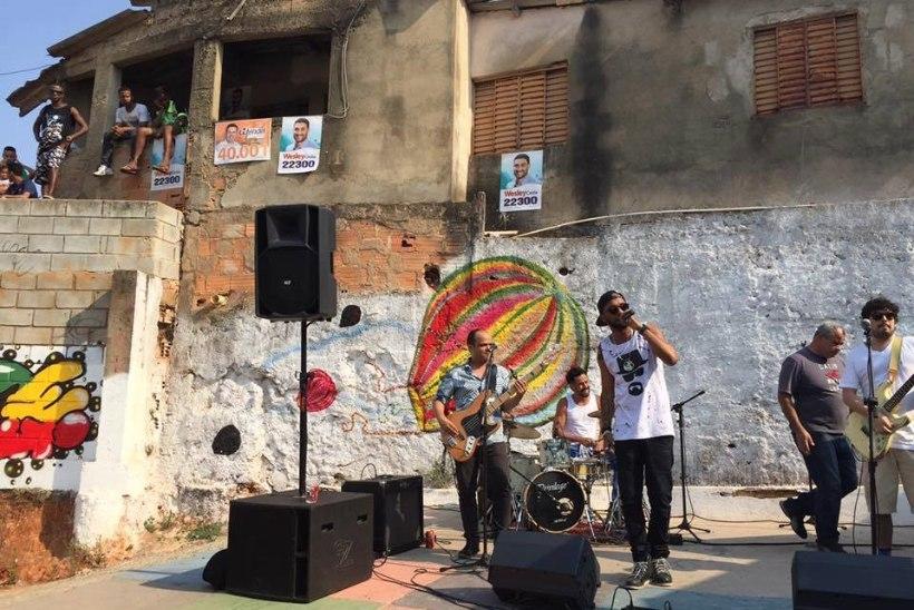 Trad. Attack!: esinesime Brasiilias silla all ja külastasime getot