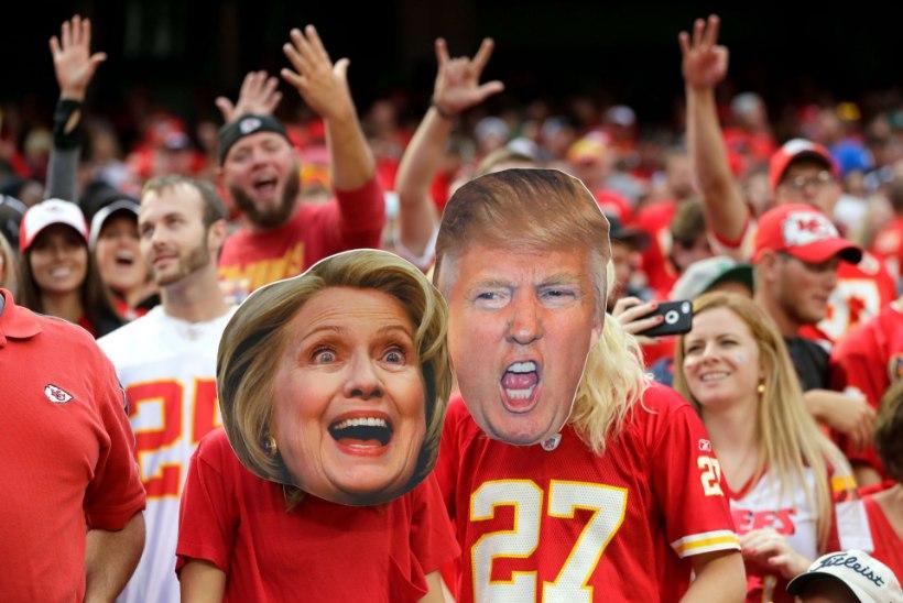 Clintoni ja Trumpi teledebatile oodatakse vaatajarekordit