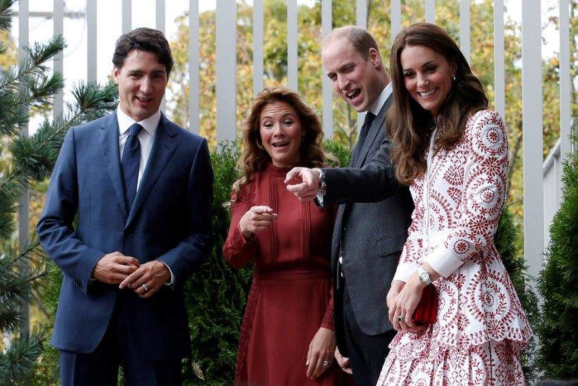 GALERII | Prints Williami ja Hertsoginna Catherine'i Kanada seiklus jätkub
