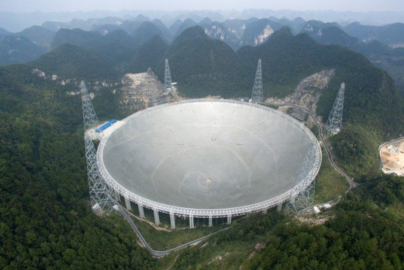 Hiina otsib ülisuure raadioteleskoobiga maavälist elu