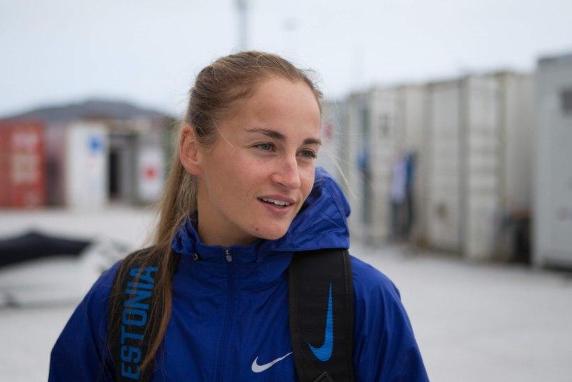 Ingrid Puusta oli Läänemerd ületades katkestamise äärel, kuid võitles lõpuni